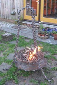 Vuurkorf van ketting